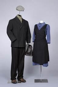 Arbeiterpaar aus den 1920er Jahren. Foto: LVR-Industriemuseum