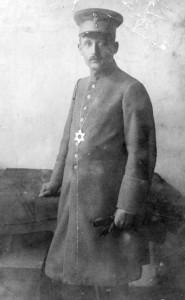 Feldrabbiner Paul Lazarus im Einsatz 1916 (Foto: Alte Synagoge Essen)